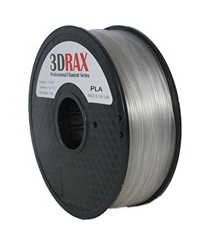 3DRAX 3D GREEN SUPER GLOW IN THE DARK PLA Printer Filament- BEST Quality 1.75 mm +/- 0.05 mm Accuracy- 2.2 lb Spool-GREEN SUPER GLOW PLA