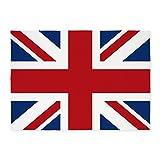 british 5x7ft - CafePress - Union-Jack_Sb - Decorative Area Rug, 5'x7' Throw Rug