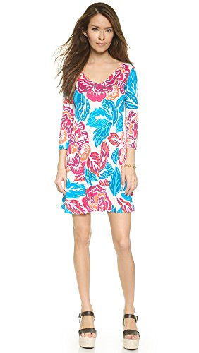 Diane von Furstenberg Women's Kaden Dress, Giant Floral Multi, (Diane Silk Jersey Dress)