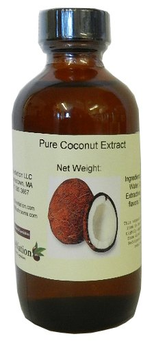 Pure Coconut Extract 8 oz, 8 Ounce