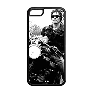 2015 CustomizedThe Walking Dead Daryl Dixon iPhone 5C Case Personalized Durable Printed Back TPU Case for iPhone 5C