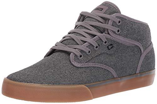 Globe Men's Motley Mid Skate Shoe, Grey Tweed/Gum, 13 M US