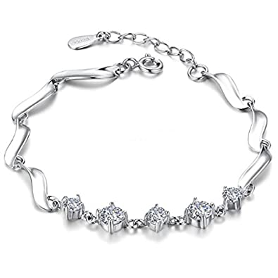 Jewellery & Watches Flight Tracker Sterling Silver Anklet With Silver Star Dangles Good Heat Preservation