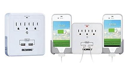 Amazon.com: Smartphone estación de carga con salida USB ...