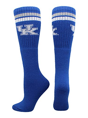 (TCK Sports Kentucky Wildcats Throwback Tube Socks (Blue/White, X-Large))