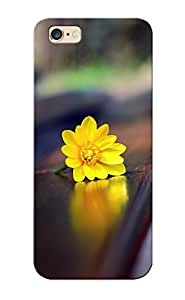 A50feb03583 Anti-scratch Case Cover Crazylove Protective Macro Bench Flowers Yellow Case For Iphone 6 Plus