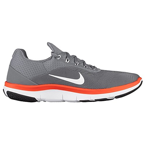 Nike Free Trainer V7 Zapatillas Zapatillas zapatos para hombre Grau (Cool Grey/Black/White/Hyper Crimson)
