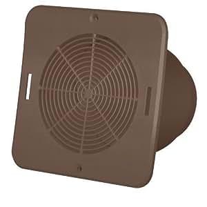 Duraflo 646015br Soffit Exhaust Vent Brown Amazon Com