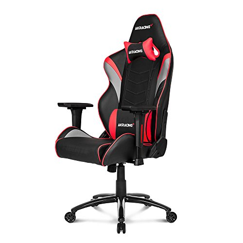 AKRacing Core Series LX Gaming Chair with High Backrest, Recliner, Swivel, Tilt, Rocker and Seat Height Adjustment Mechanisms with 5/10 Warranty