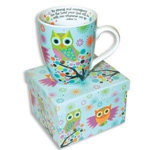 Beautiful Ceramic Owl Coffee Mug With