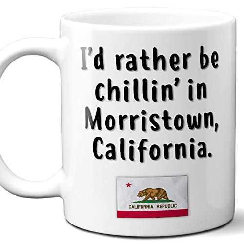 Morristown California Coffee Mug Souvenir Gift.