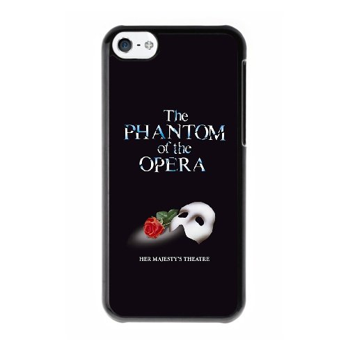 Coque,Coque iphone 5C Case Coque, The Phantom Of The Opera Cover For Coque iphone 5C Cell Phone Case Cover Noir