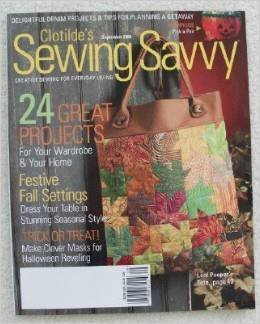 (Clotilde's Sewing Savvy September 2006)