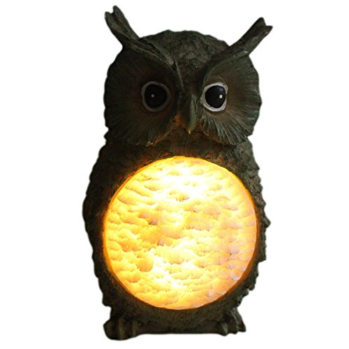 Scare Cat (Owl Solar LED Light Garden Backyard Yard Outdoor Landscape Night Light)