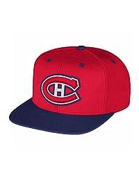 NHL Montreal Canadiens Multi Color Flat Brim Snapback Cap