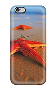 Fashionable Style Case Cover Skin For Iphone 6 Plus- Starfish