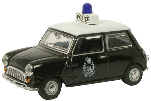 1/43 ミニクーパー 香港警察パトカー(グリーン×ホワイト) OXMIN011
