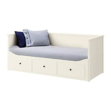 ikea twin size daybed frame with 3 drawers white 82226211626