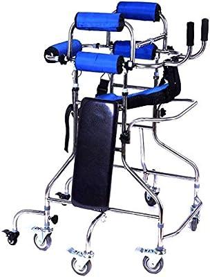 LHY-walker Andador con Ruedas Plegable de Altura Ajustable con ...