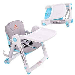 Portable Travel High Chair Travel Booster Baby Seat Booster Seat for Dining 3