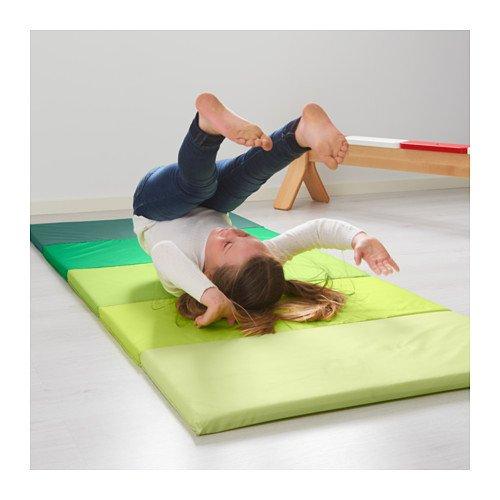 Children's Foam Folding Gym Mat, Green, Plufsig by IKEA by IKEA (Image #2)