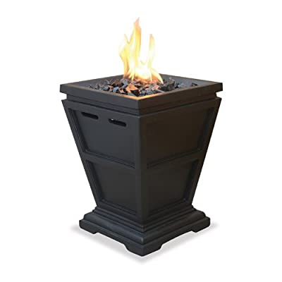 UniFlame 15in. Tabletop Propane Fire Column