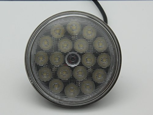 Price comparison product image ETHER 4.5 Inch Round Osram LED Headlight With flood Beam Conversion Kit DLR Light Assembly For Trucks of Agriculture Construction Mining Material Off-road Power sports Railroad specialty Headlamp