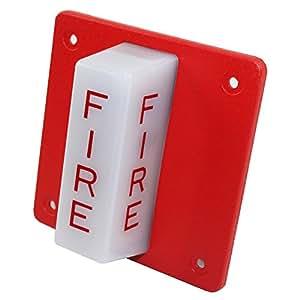 Cooper Wheelock LHSW 120938 LED Horn Strobe White Exceder ...  |Wheelock Fire Alarm Horn Strobe