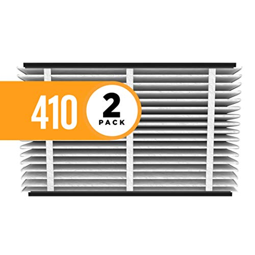 Aprilaire 410 Air Filter for Aprilaire Whole Home Air Purifiers, MERV 11 (Pack of 2)