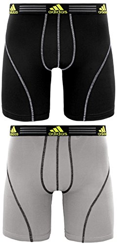 adidas Men's Sport Performance Climalite Midway Underwear (2 Pack) by adidas