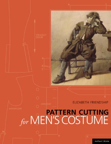 [Pattern Cutting for Men's Costume (Backstage)] (Revealing Costumes)