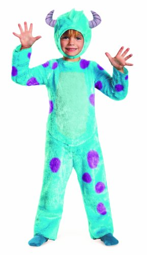 [Disney Pixar Monsters University Sulley Toddler Deluxe Costume, 2T] (Sully Monsters Inc Costume Toddler)