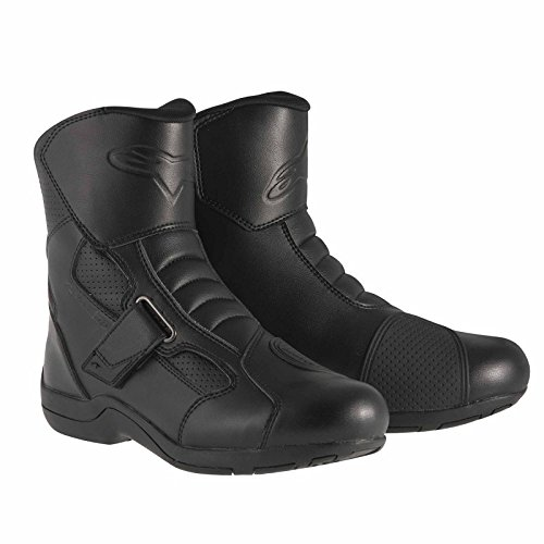 Alpinestars Ridge Waterproof Men's Street Motorcycle Boots (Black, EU Size 41)