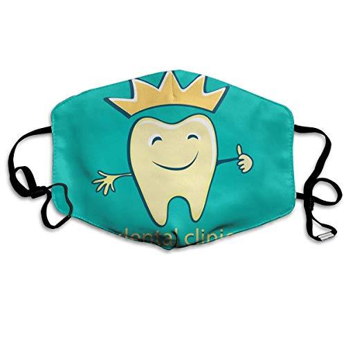 Teeth Dental Fashion Stylish.jpg Face Masks Breathable Dust Filter Masks Mouth Cover Masks Elastic Ear -