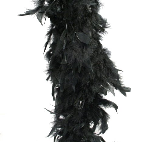 Black Feather Boa (6 ft)