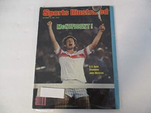 SEPTEMBER 15, 1980 SPORTS ILLUSTRATED MAGAZINE FEATURING U.S. OPEN CHAMPION JOHN MCENROE *MCNIFICENT!*