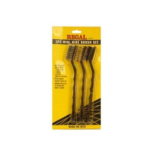 SERVICE TOOL 19135 Wire Brush Set 3-Piece SERVICE TOOL CO INC