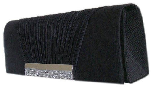 MODE Mittel BLACK Women's BLACK Clutch Black Mittel Women's DIVA DIVA MODE Clutch Black wqf5R5HWIU