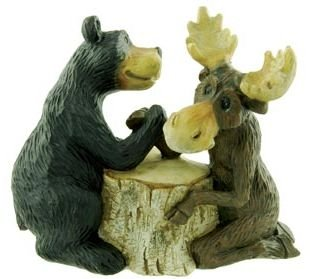 bear and moose decor - 2