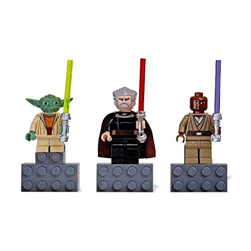 igure Magnet Set 852555 Yoda, Mace Windu and Count Dooku ()