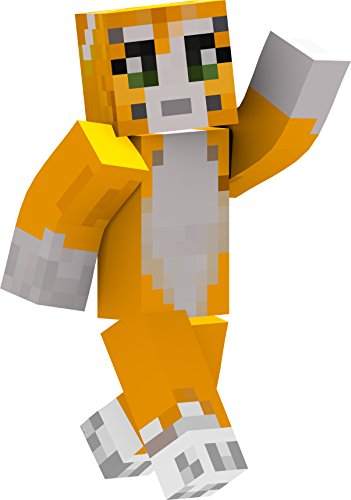 [Stampy - 2' Wall Decal - Waving] (Ghast Minecraft Costume)