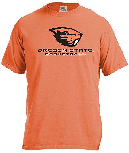 - NCAA Oregon State Beavers Basketball Energy Short Sleeve Comfort Color Tee, Large,BurntOrange