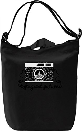 Hipster camera Borsa Giornaliera Canvas Canvas Day Bag| 100% Premium Cotton Canvas| DTG Printing|