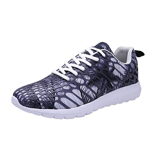 NEEKEY Women Men Casual Sneakers Lightweight Walking Shoes Summer Gym Breathable Mesh Sports Running Camouflage Shoes