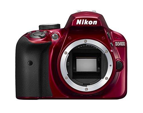 (Nikon digital single-lens reflex camera D3400 body Red D3400RD(Japan Import-No Warranty) )