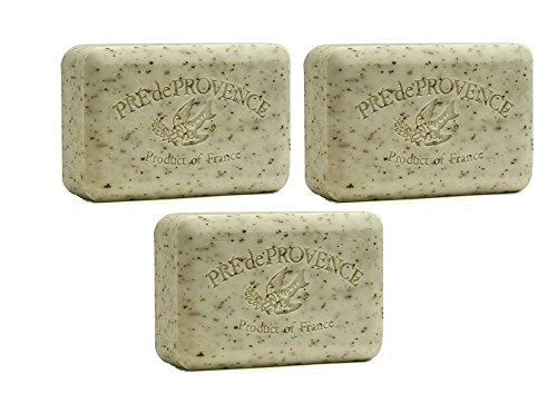 Pre de Provence Mint Leaf Soap 250g (3 Pack) by European (250g Soap)