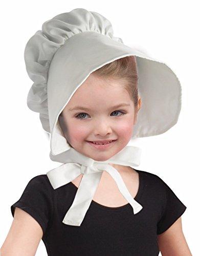 (Forum Novelties Child Colonial Bonnet Hat, White)