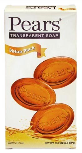 [Pears Pears Soap Box of 3] (Pears Glycerin Soap)