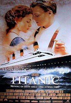 Titanic - Film Promo Art - Leonardo DiCaprio - Kate Winslet