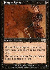 Magic: the Gathering - Sleeper Agent - Urza's Saga - Single High Sleeper